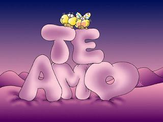 Te amo bien romantico