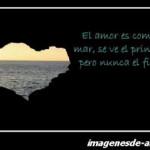 El amor es como el mar imagen de amor