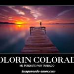 imagen colorín colorado me perdiste por tardado