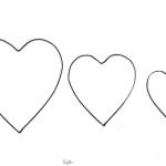 Imagen con corazones para imprimir