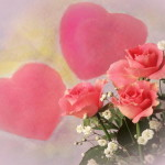 imagenes de rosas y corazones