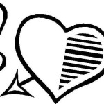 Imágenes de corazones para colorear gratis
