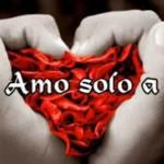Imagen de amor: Te amo  sólo a ti
