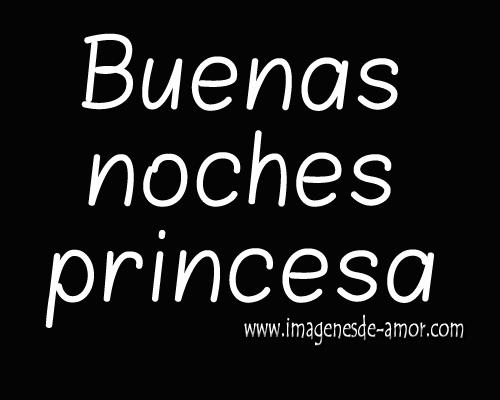Imagenes de buenas noches para mi princesa