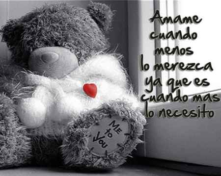 Imagenes D Peluches Con Frases D Amor Imagui