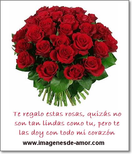 Ramo de rosas rojas para Facebook